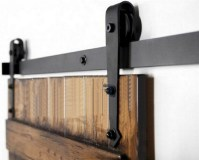 Rustic Vintage plate sliding barn door hardware&Barn door ...