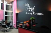 Logo& Cutom Business Vinyl Wall Decal Hairdresser Beauty ...