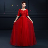 Plus Size Red Evening Gowns