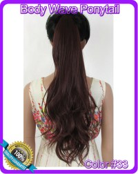 Hair Extension Color 33 | full head human clip in 4 33 ...