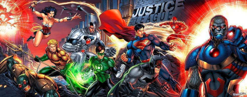 justice league poster war superman wonderwoman batman super hero wall wall graphics sticker smaller extra stickers