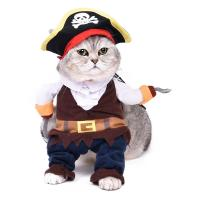 Dog/Cat Halloween Costume Pirate Style Cartoon Pet Dog/Cat ...