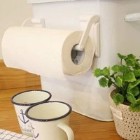 Roll Paper Towel Holder Magnetic Bathroom Fridge Napkin ...