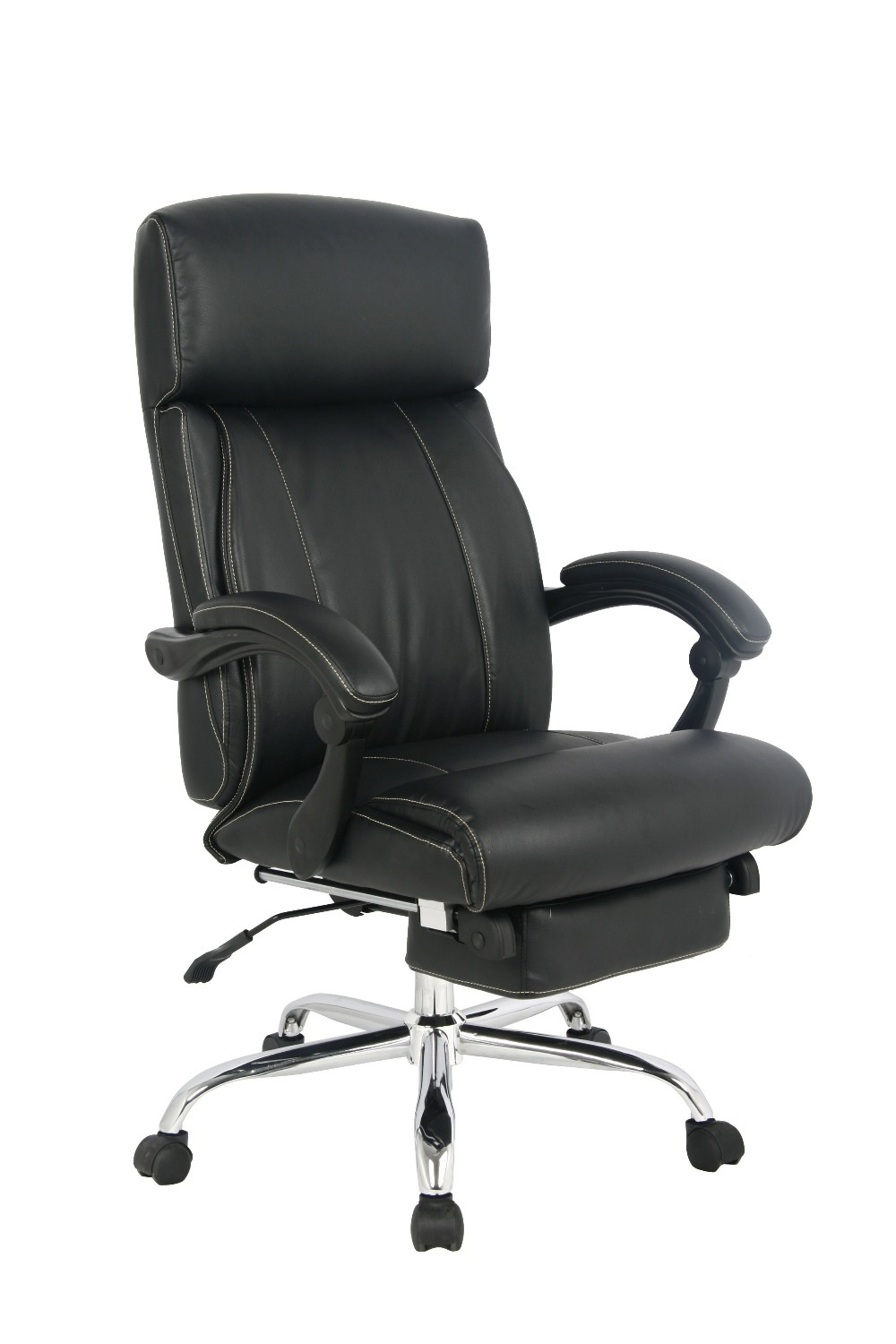 Viva High Back Ergonomic Bonded Leather Recliner Swivel - Leather High Back Lounge Chair