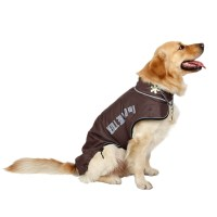 Large Pet Dog Clothes Winter Warm Clothing Wear Snowsuit ...