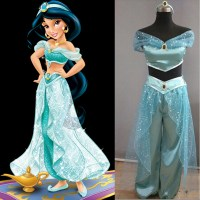 2015 Aladdin and the Magic Lamp Princess Jasmine cosplay ...