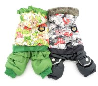 Pet Clothes for Small Toy Dog Puppy Cat Winter Fleece Coat ...