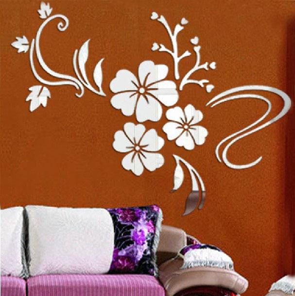 aliexpress compre modern adesivos de parede home decor art diy da wall mirror stickers tonka design digsdigs