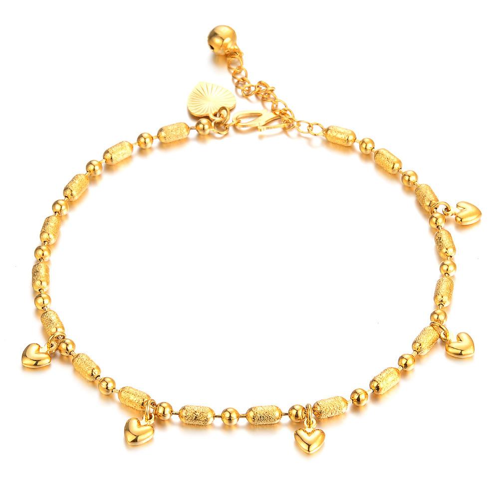 Gold Bracelet Designs For Ladies Chain Type