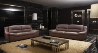 Real Leather Living Room Sets