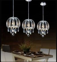 modern pendant lamp crystal Kitchen Pendant Lighting ...