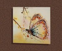 Handmade Modern Simple Decorative Butterfly Picture Oil ...