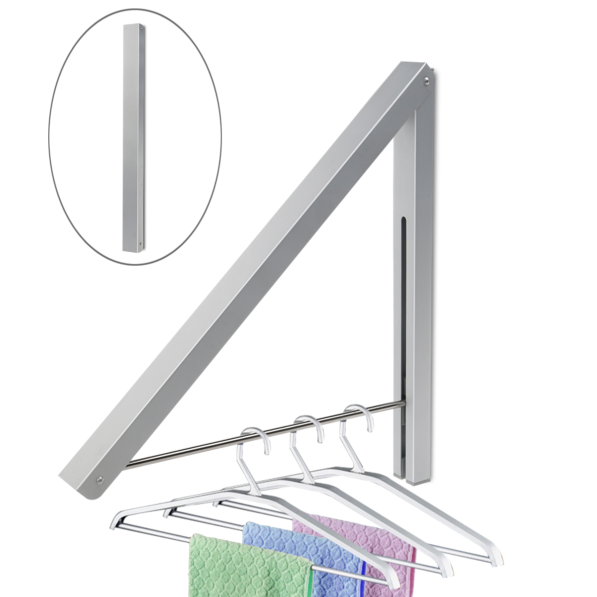 Adjustable Wall Shelf System Popular Clothes Hanger System Buy Cheap Clothes Hanger
