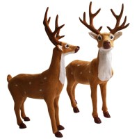 reindeer outdoor decorations | My Web Value