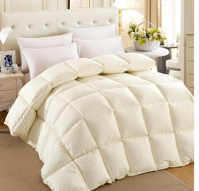 All Seasons Microfibre 3d Duvet Imitation Duck Down Popular Thick Comforter-buy Cheap Thick Comforter Lots