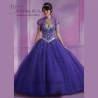 Vestidos de 15 anos Luxury Coral Orange Purple Cheap ...