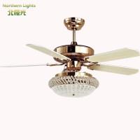 led Modern Wrongt Iron Ceiling Fan Light Fashion Antique ...