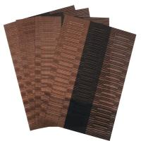 Set of 4 PVC Bamboo Plastic Placemats for Dining Table ...