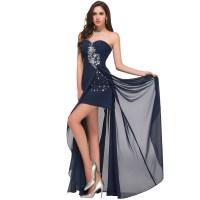 Prom Dresses Navy Blue Short - Boutique Prom Dresses