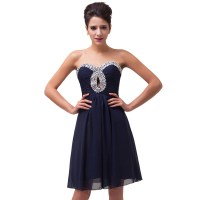 Navy Blue Short Prom Dress - Gown And Dress Gallery