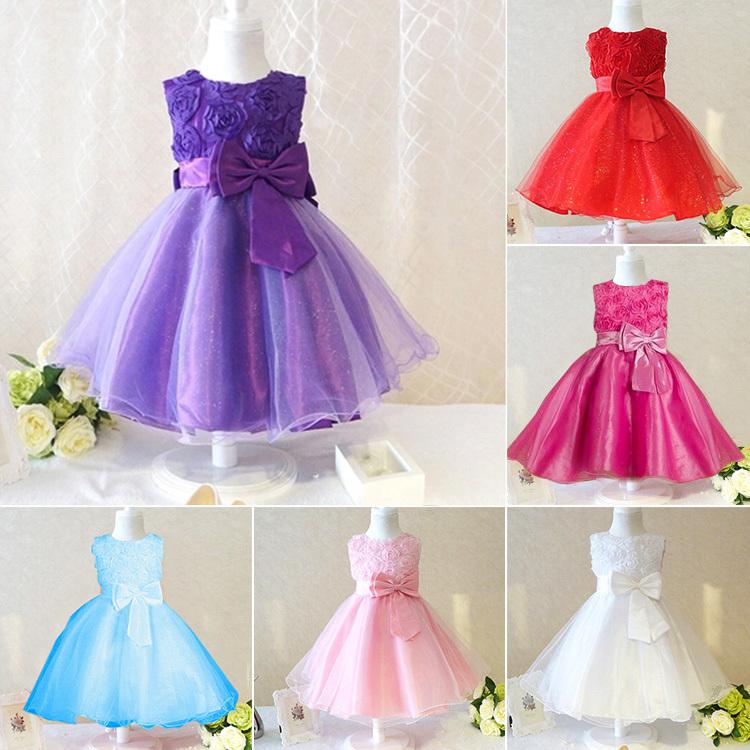 Retail 2015 new sleeveless Waist Chiffon Dress Girls