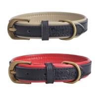 Designer New Genuine Leather Soft Padded Small Dog Collar ...