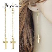 Popular Hanging Cross Earrings-Buy Cheap Hanging Cross ...
