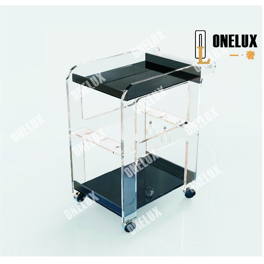 Online Buy Wholesale acrylic bar cart from China acrylic