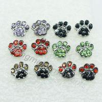 Aliexpress.com : Buy crystal rhinestone cat dog paw print ...