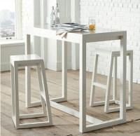 Simple modern stylish bar bar chairs wood coffee table ...