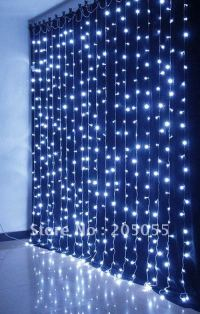 480LEDs Chirstmas Curtain light Twinkle light lamp 3m(H)x ...