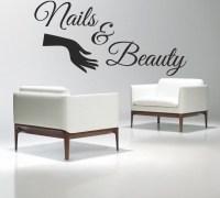 Nail Salon Vinyl Wall Decal Nails & Beauty Salon Varnish ...