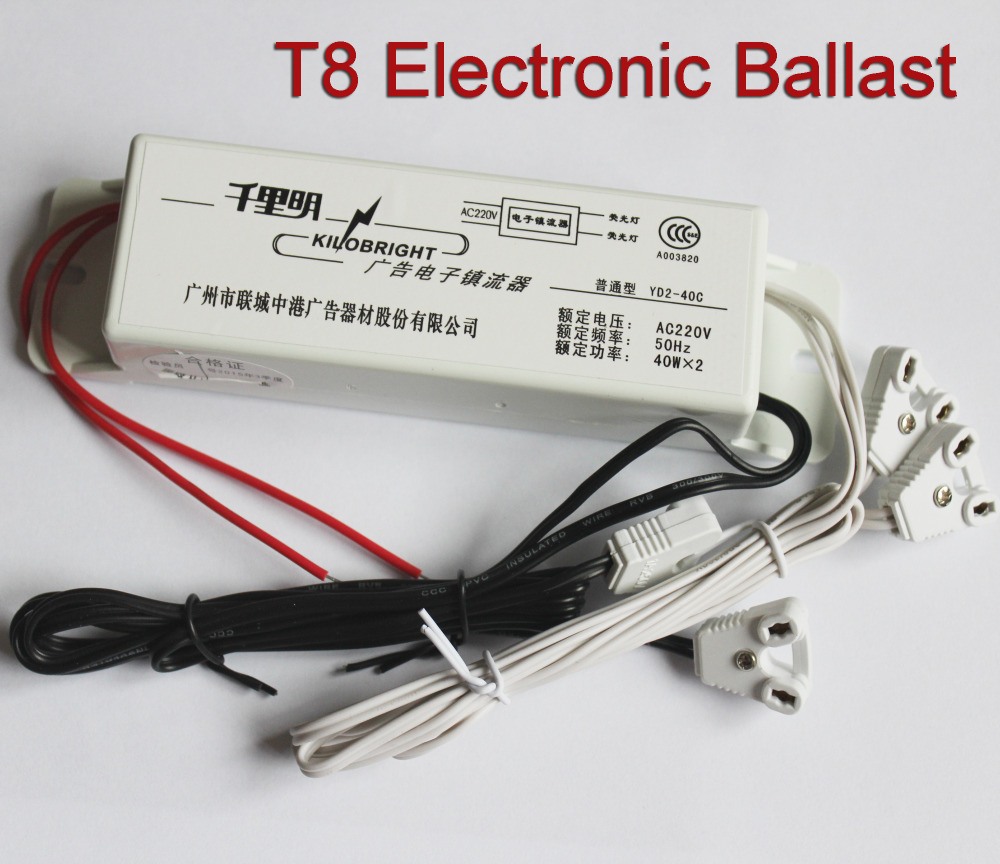 Free Shipping Kilobright T8 Electronic Ballast For