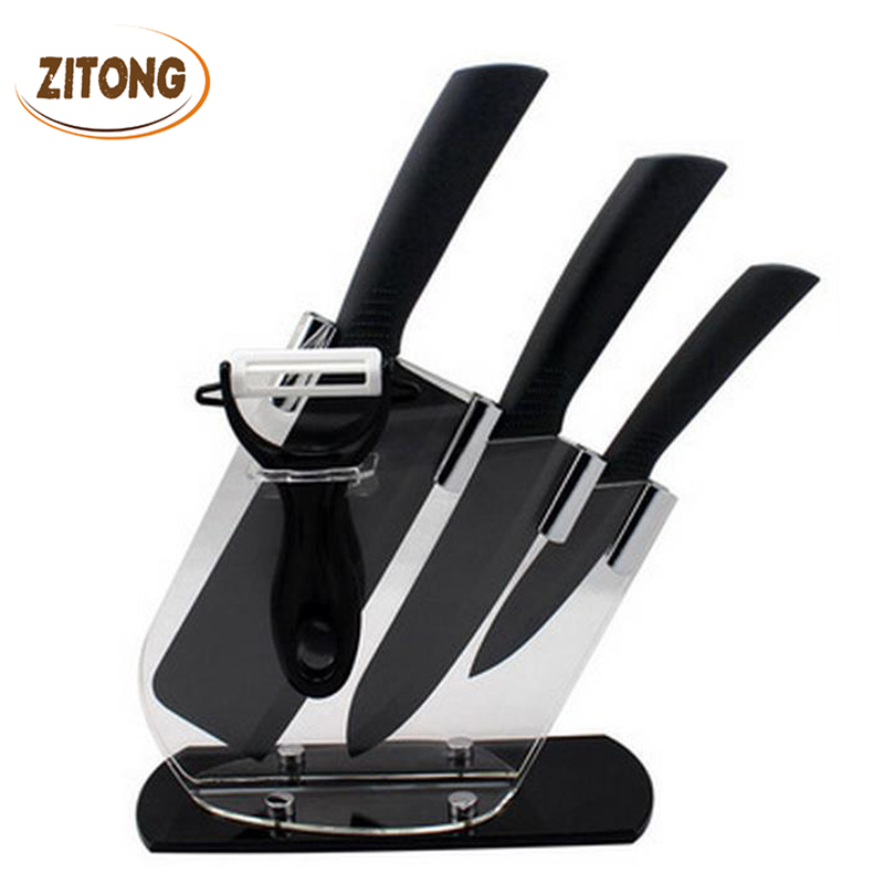 top quality brand black blade kicthen ceramic knife set acrylic alfa img showing high quality kitchen knife brands