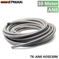 """EPMAN AN 8 (10mm 5/16"""") Stainless Steel Braided Fuel Line ..."""