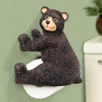 Creative Cute Animal Handmade Resin Wall Mounted Toilet