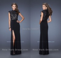 High Collar Prom Dresses - Formal Dresses