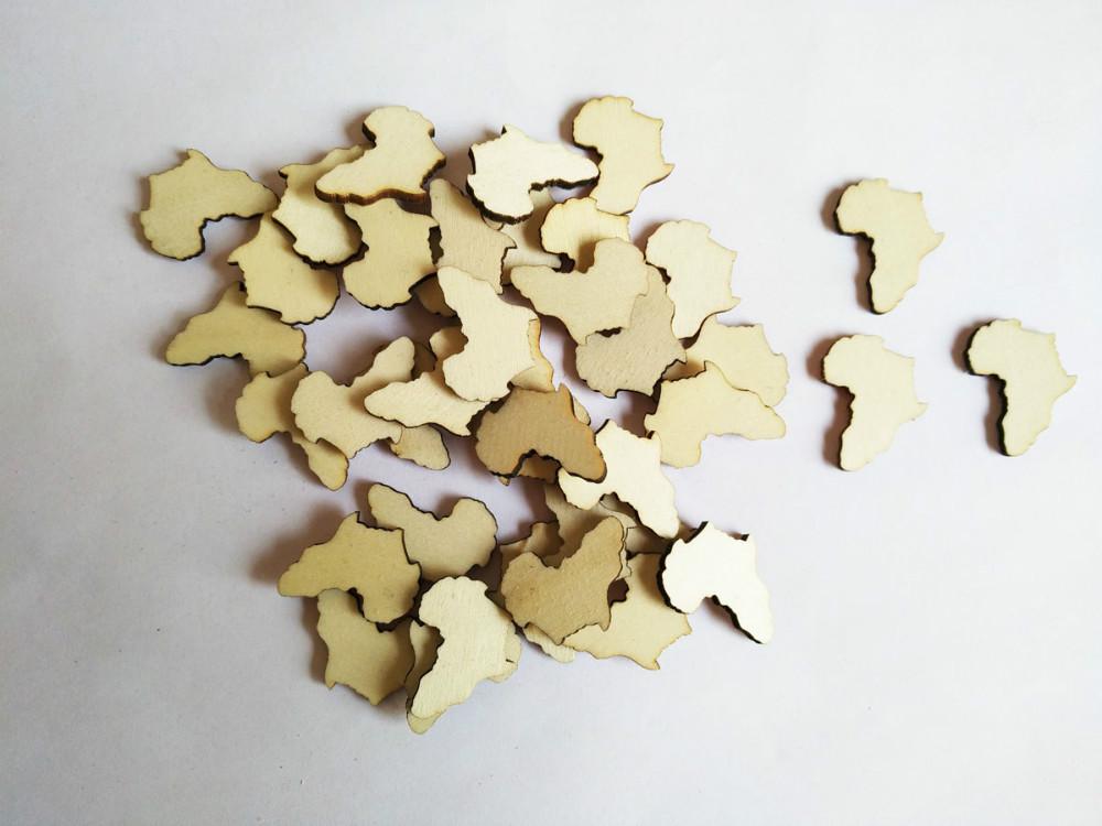 Africa Shaped Earrings Reviews