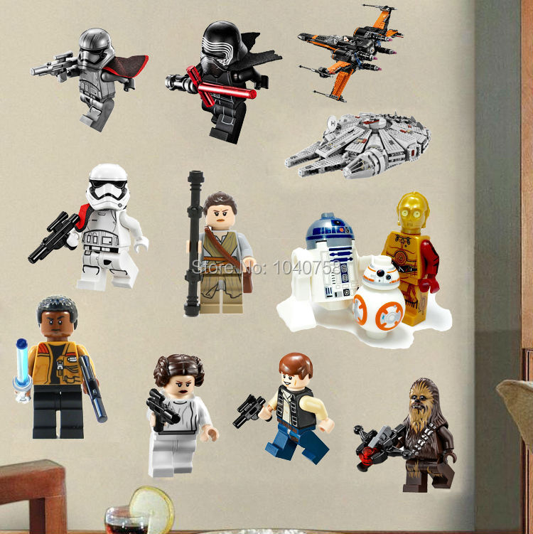 star wars lego movie posters wall stickers decals art baby nursery wall stickers children wall decals nursery star wall decals star