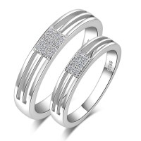 Accessories-925-pure-silver-ring-platinum-lovers-wedding ...
