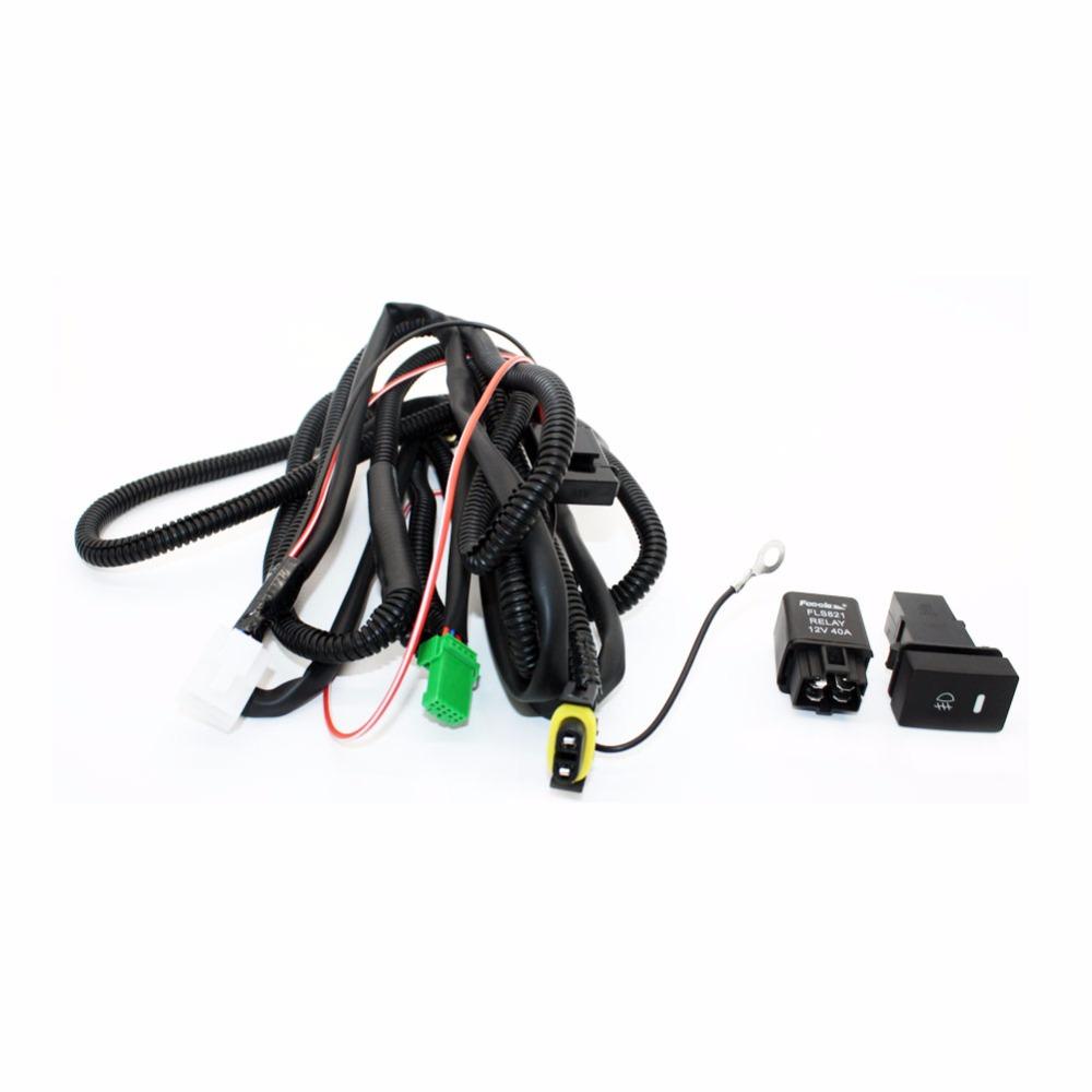 2013 gmc fog light wiring harness