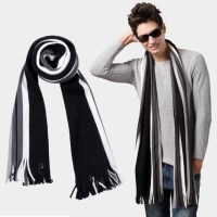 winter striped cotton scarf mens scarves shawl wrap,casual ...