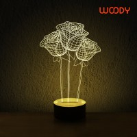 Modern-3d-lamp-led-personality-wool-decoration-small-table ...