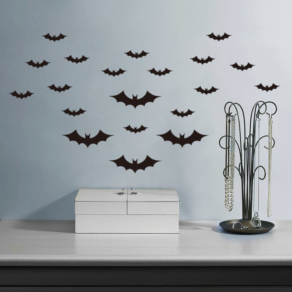 aliexpress buy bat wall stickers children room bedroom sofa removable wall decals high quality pvc childrens bedroom wall stickers