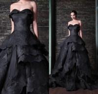 Aliexpress.com : Buy Actual Image Black Wedding Dress 2015 ...