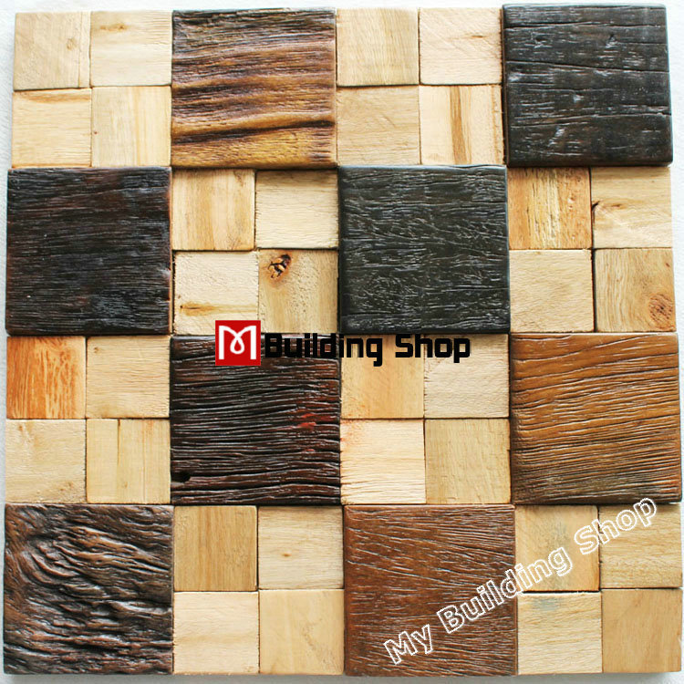 tile nwmt natural wood mosaics kitchen wall tile backsplash wood wood backsplash