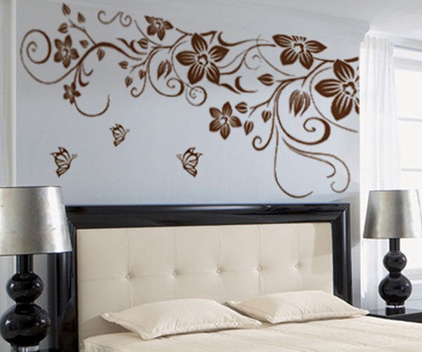 removable pvc wall decals sticker home decor wall stickers paint stripes solid colour