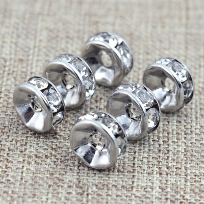 100pcs Metal Flower Bead Caps Vintage Filigree DIY Jewelry Making Findings Mixed Silver Plated ...