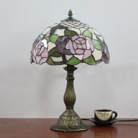 Popular Rose Tiffany Table Lamp-Buy Cheap Rose Tiffany ...