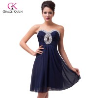 The gallery for --> Dark Blue Short Homecoming Dress